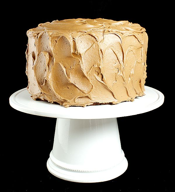 ... Cake Day!! / Chocolate Cake with Caramel-Milk Chocolate Frosting