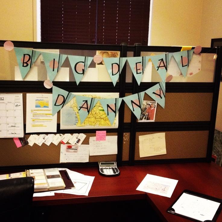 Decorating Ideas > Office Birthday Decorations  Office  Pinterest ~ 102022_office birthday decoration ideas