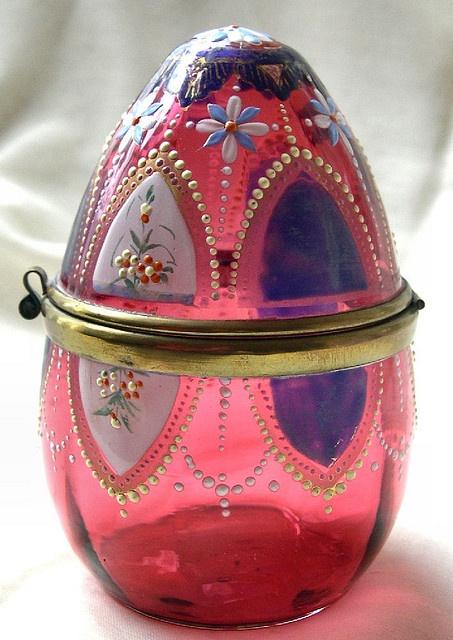 Викторианской чешского стекла Le Petit Poulailler через Flickr