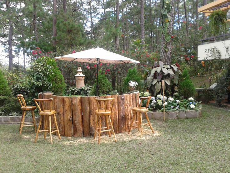 Rustic Backyard Bars : Outdoor Rustic Bar  Outdoor Bar  Pinterest