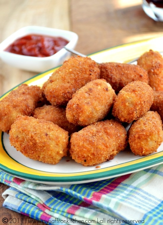 Crispy Chicken Nuggets | Food to cook in our new home | Pinterest