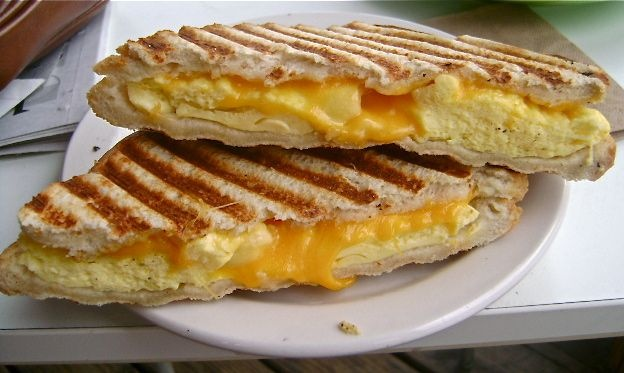 breakfast panini | Sandwiches, paninis, and that's a WRAP! | Pinterest