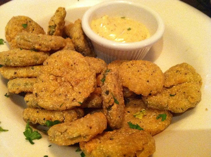 Fried dill pickles | Guilty Pleasures | Pinterest