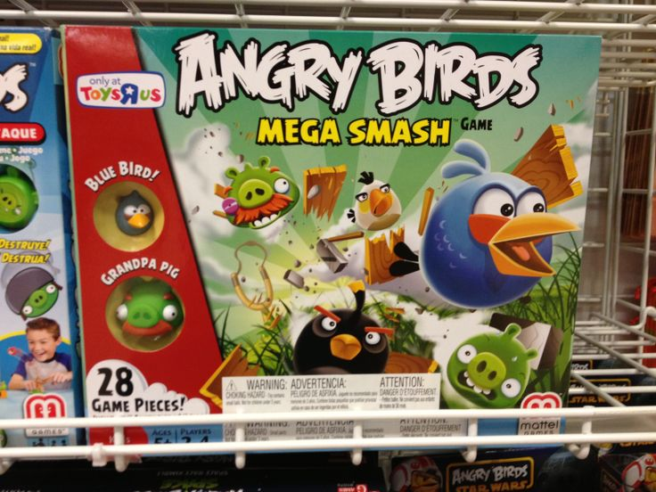 Birds Toys R Us : Angry birds space mashems toys r us