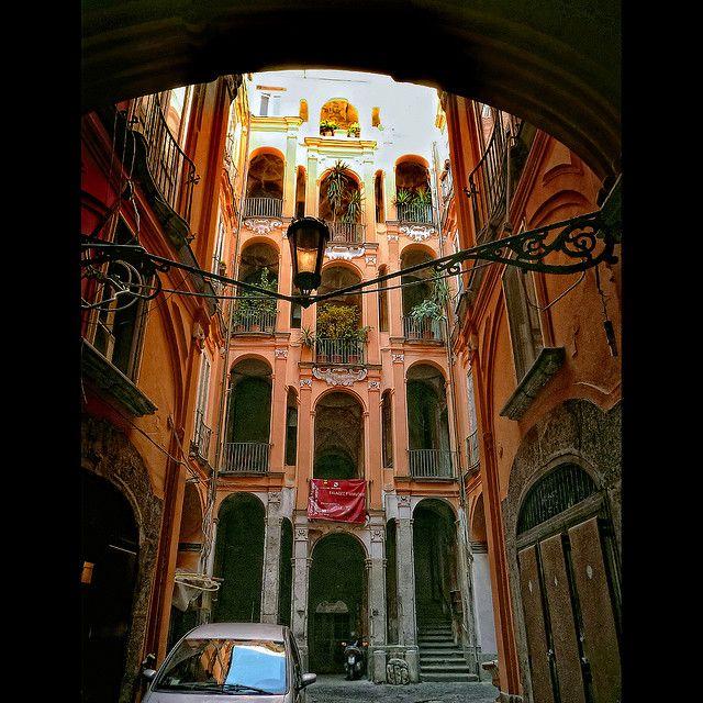 Naples, Italy - Palazzo Trabucco
