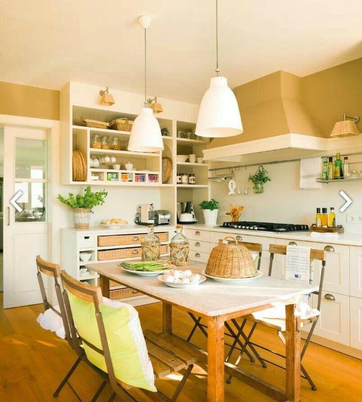 Country kitchen cocinas pinterest - Pinterest country kitchen ...