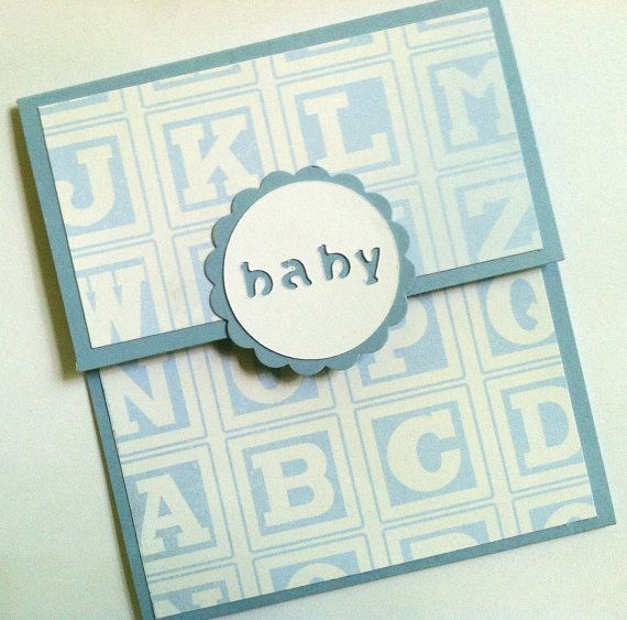 baby gift card holder baby boy baby shower by terryscards on etsy 2