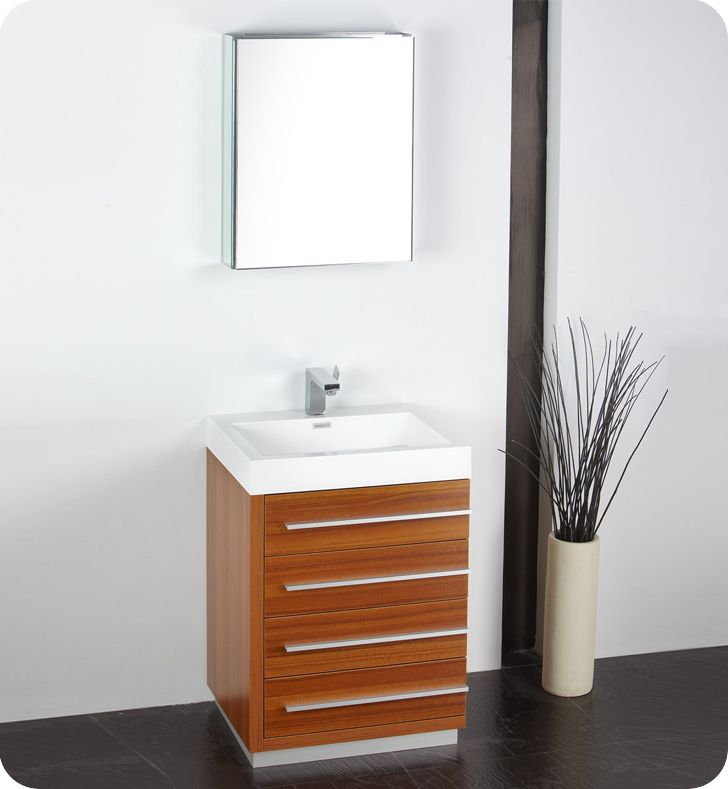 Comteak Bathroom Vanity : Fresca Livello 24
