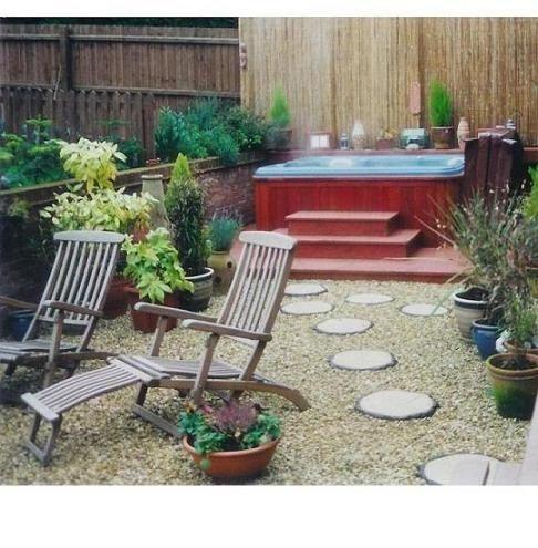 Hot Tub Garden Ideas Pinterest