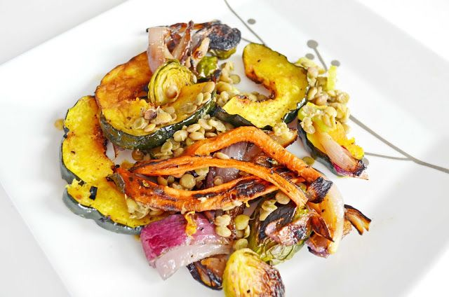 ... Life:The Art of the Everyday: Roasted Fall Vegetables and Lentil Salad