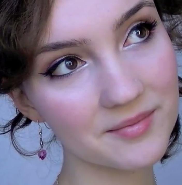 Bridal Makeup Simple pretty eyes Pinterest
