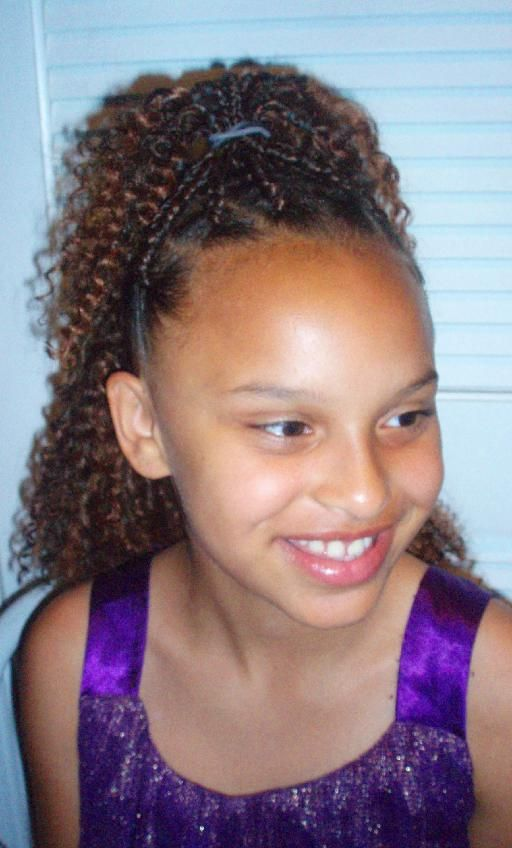 Crochet Braids For Kids : crochet braids for kids with cute accessories like headbands and ...