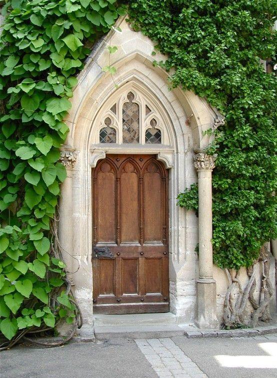 Gothic Inspired Doors Hallways Stairs Pinterest