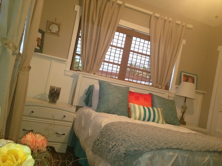 Our beach theme guest bedroom beach theme bedroom for Beach themed bedroom ideas pinterest