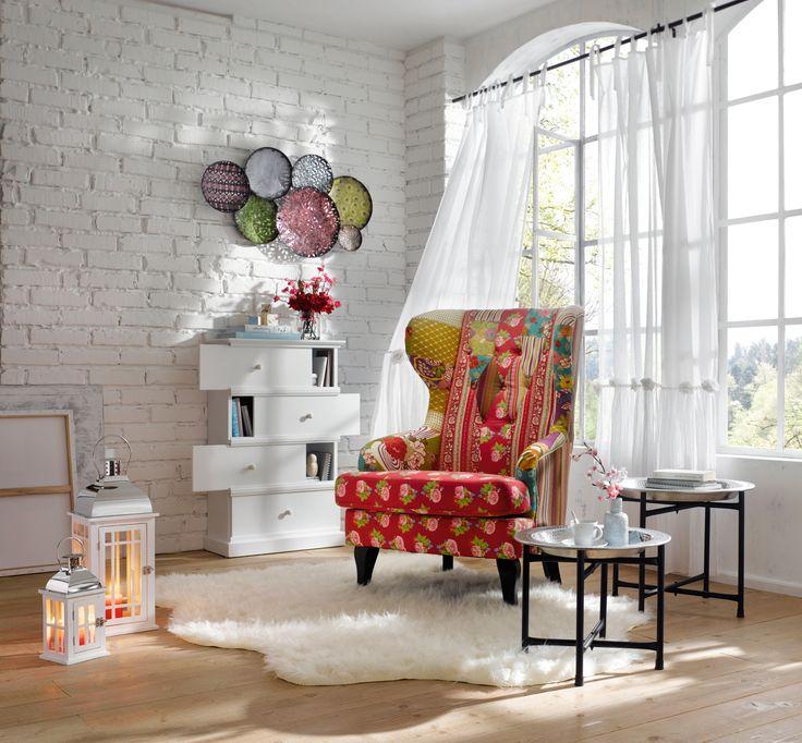 ... intérieur : en 2012 la tendance déco est aux motifs à fleurs