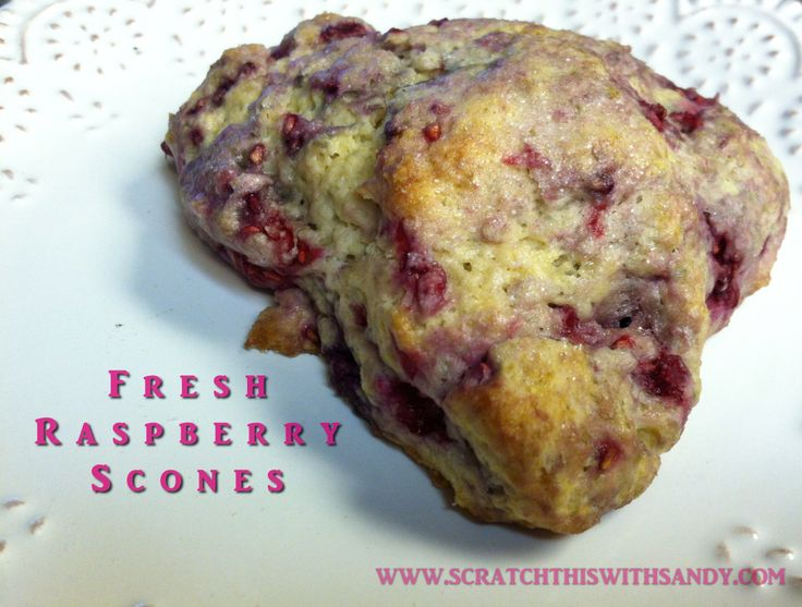 Fresh Raspberry Scones | Ideas for home cooking. | Pinterest