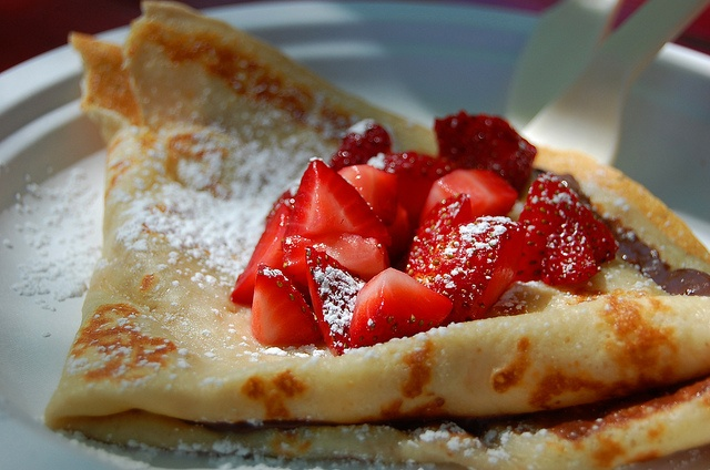 Flip Happy Crepes ATX - Nutella and strawberry crepe by Kell the ...