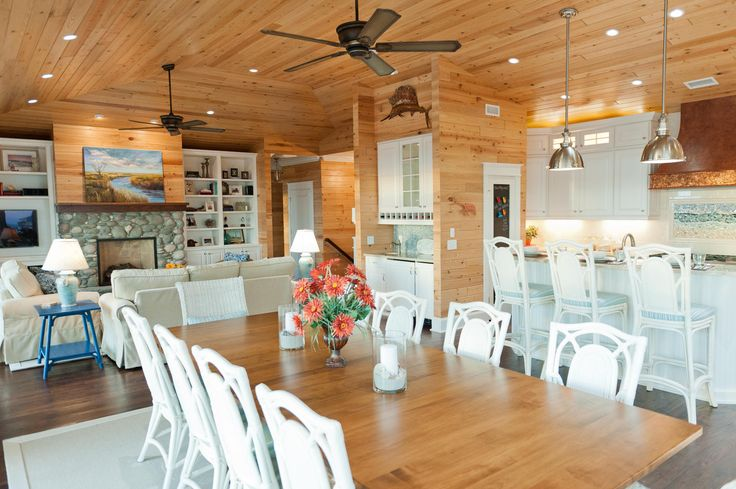 Pin by susan on a roof over our head pinterest for Open floor plan metal homes