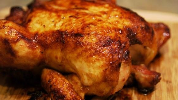 Misoyaki Roast Chicken with Shoyu Onion Sauce | Recipe