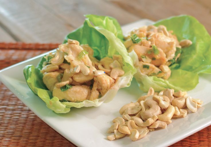 More like this: lettuce cups , cashew chicken and lettuce .