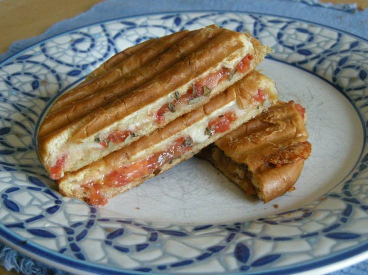 Jolene's Recipe Journal: Pressed Caprese Sandwiches