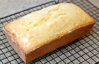 Low fat lemon pound cake - replace sugar with substitute