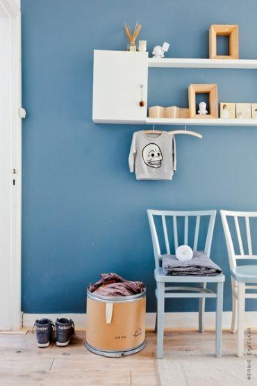 imgbd - slaapkamer blauwe muur ~ de laatste slaapkamer ontwerp, Deco ideeën