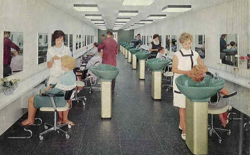 Vintage hair salon google search love my room pinterest - Vintage salon images ...