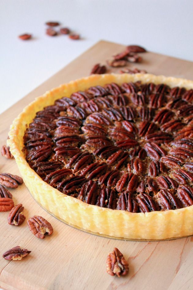 Maple Bourbon Pecan Pie | creative food | Pinterest
