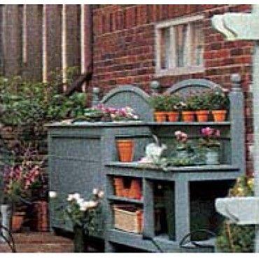 A Great Garden Work Bench Garden Tips And Tricks Pinterest