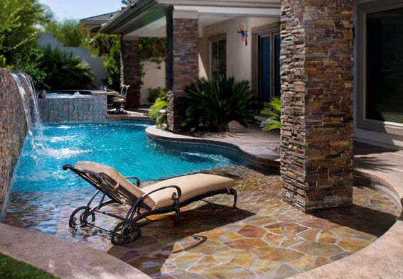For a small yard this pool is perfect outdoor living for Pool vendors