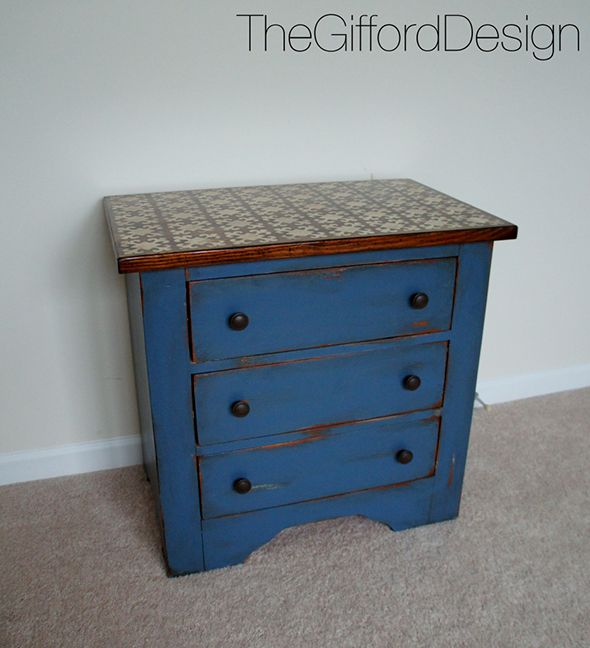 Painted Stenciled Distressed Furniture Distressed Furniture Pinte