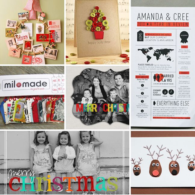 Christmas Card Ideas from Pinterest