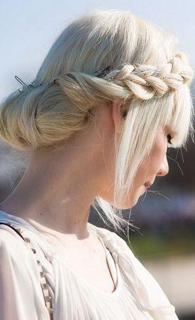 Ukrainian hairstyles | Ukrainian beauty | Pinterest