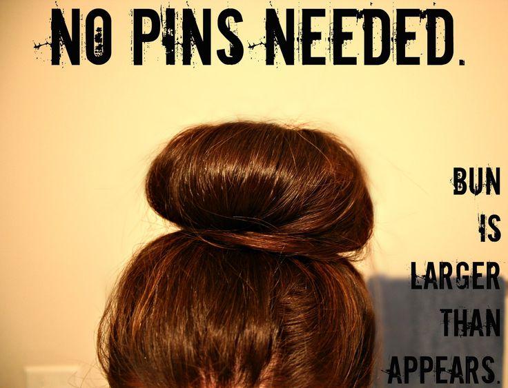 How To: Lauren Conrad's Big Messy Bun & Big Ballerina Bun NO PINS NEEDED & better than the sock bun!!