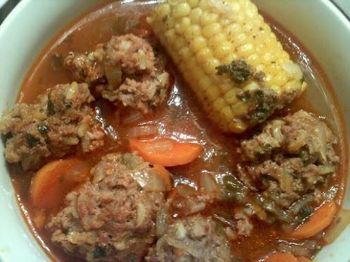 Albondigas- Mexican Meatball Soup! | Recipes | Pinterest