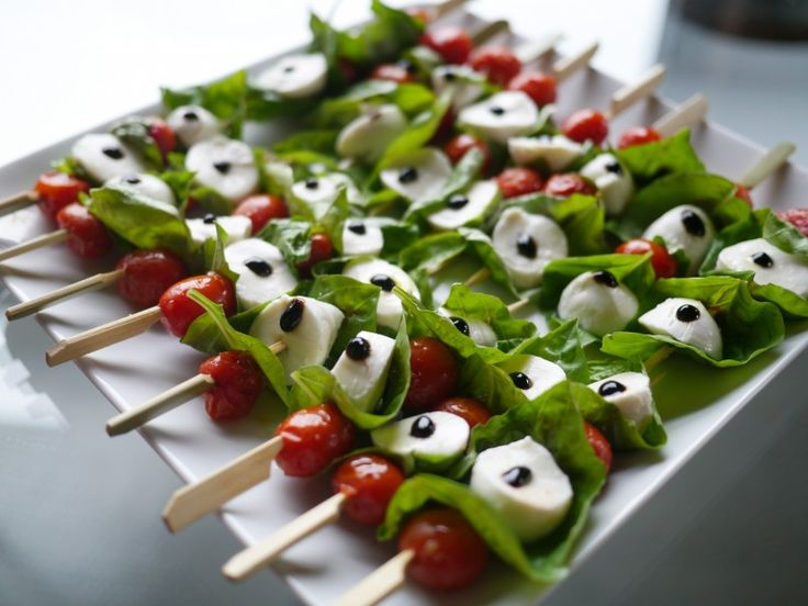 Caprese Skewers: A Grill Season Great with a Low-Sodium Twist. | http ...