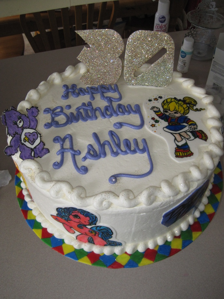 80 39 s birthday cake party ideas pinterest for 80s cake decoration ideas
