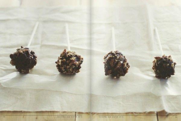 Bourbon Chocolate Cake Pops | Food! | Pinterest