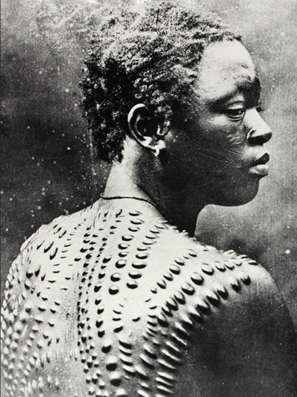 Scarification tribal scarification pinterest for African skin decoration