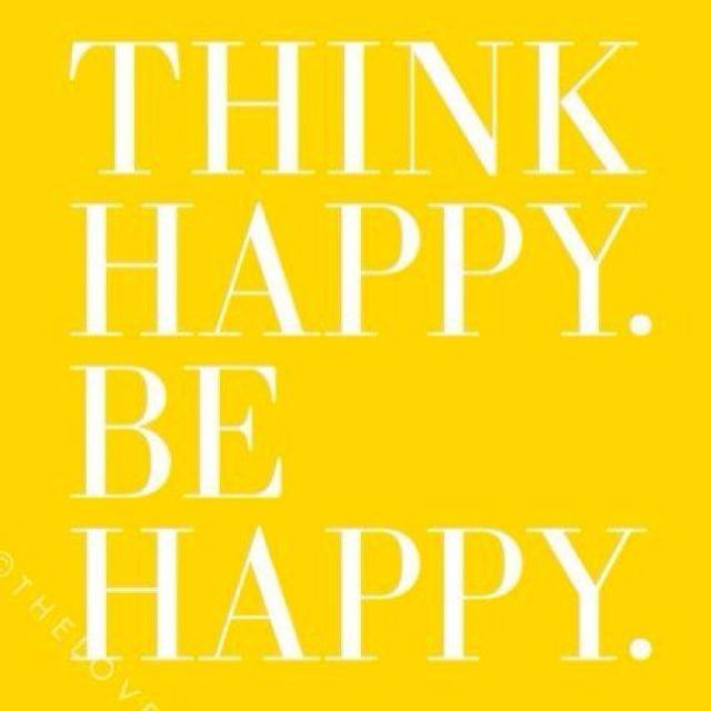 Inspirational Quote - Be Happy