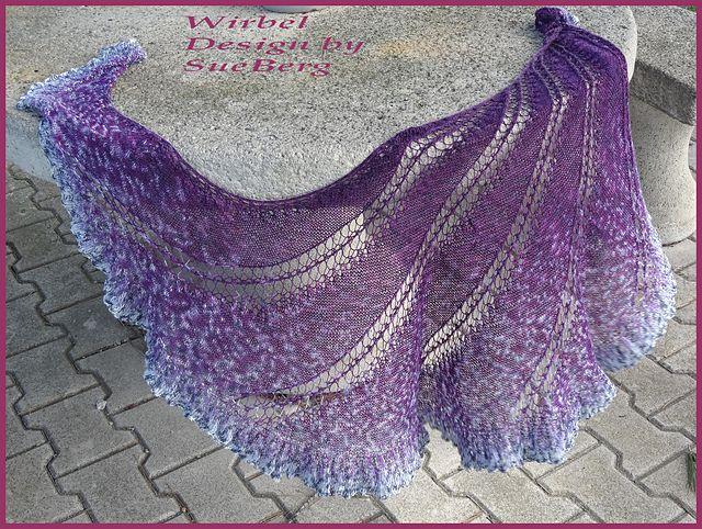 Free Ravelry Knitting Patterns : Ravelry: Wirbel pattern by Sue Berg Knitting Pinterest