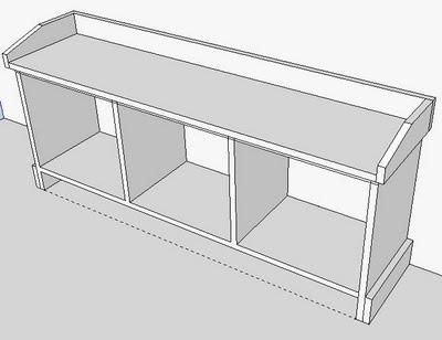 building plans for bench