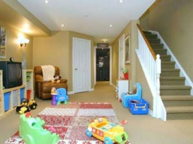 finished basement playroom for the home pinterest