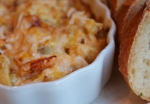 Baked Crab and Artichoke Dip | Food | Pinterest