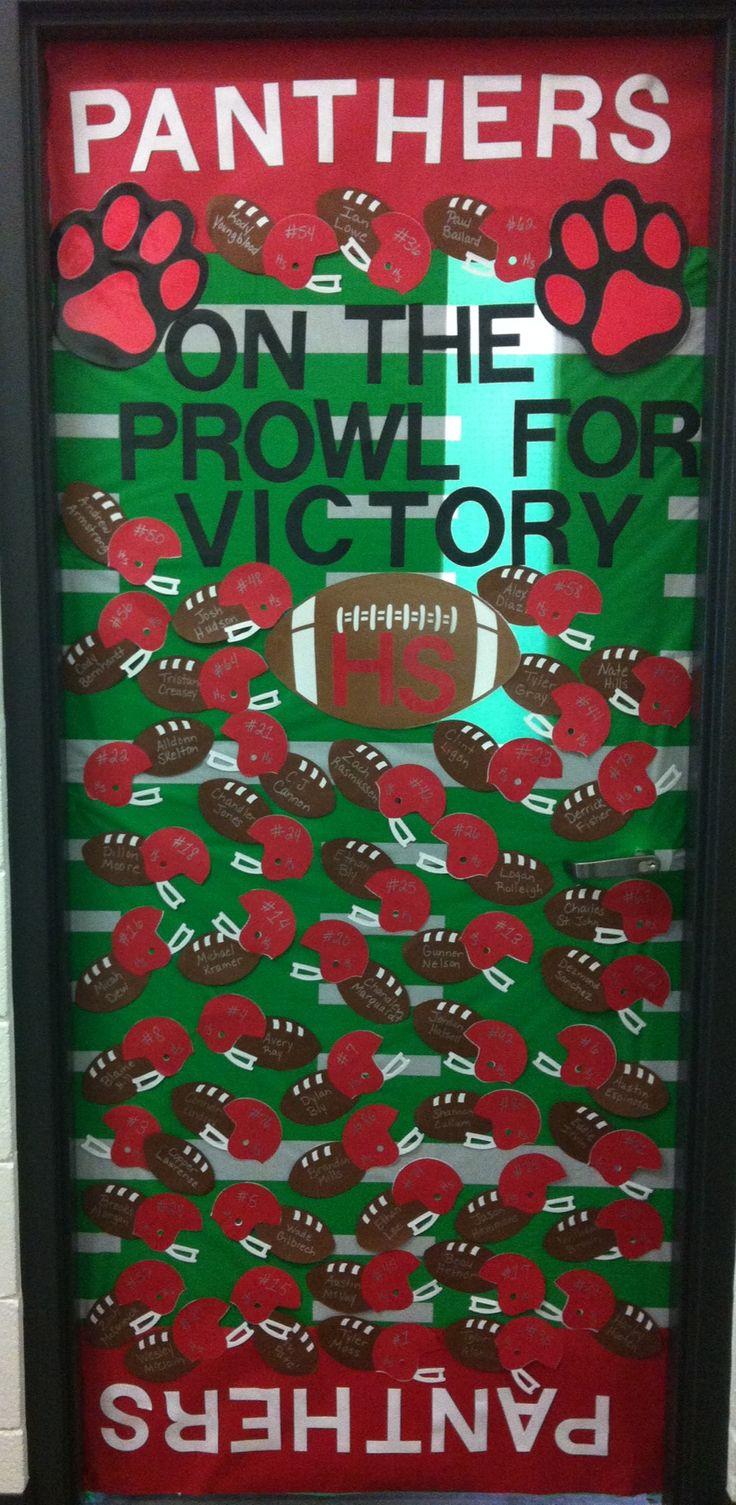 door contest have each stud co member decorate a teachers door have a