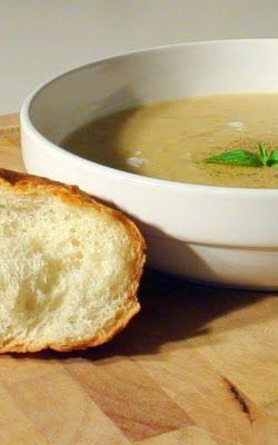 Edible Menu: Cream of Onion Soup | Soup's On | Pinterest