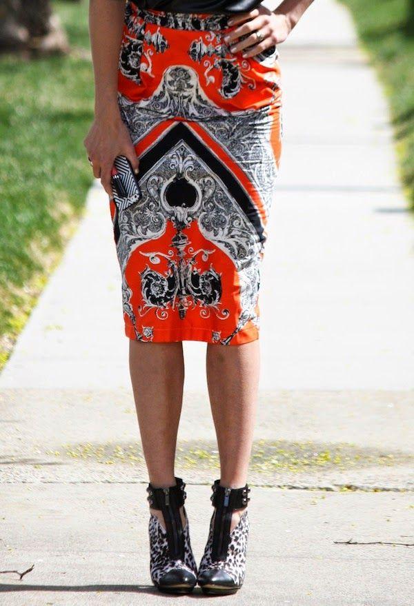 asos skirt, forever21 shoes