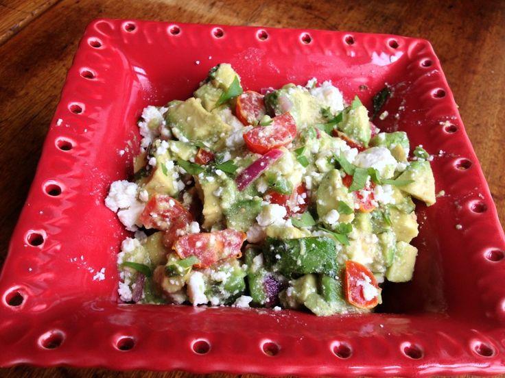 Avocado Feta Salsa | Dips for Parties! | Pinterest