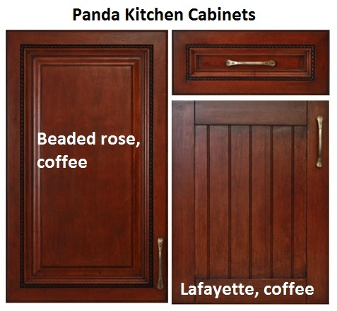 Panda Kitchen Cabinets Combination Of Cabinet Choices From Panda Kitchen And Bath Both In